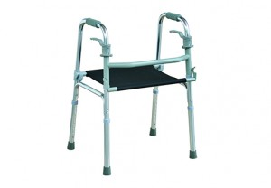 One Button Folding Walker 7011