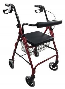 Steel 4 Wheel Rollator